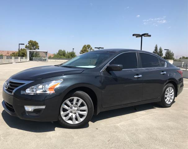 2015 NISSAN ALTIMA 25 S 4DR SEDAN gray 2-stage unlocking doors abs - 4-wheel air filtration a