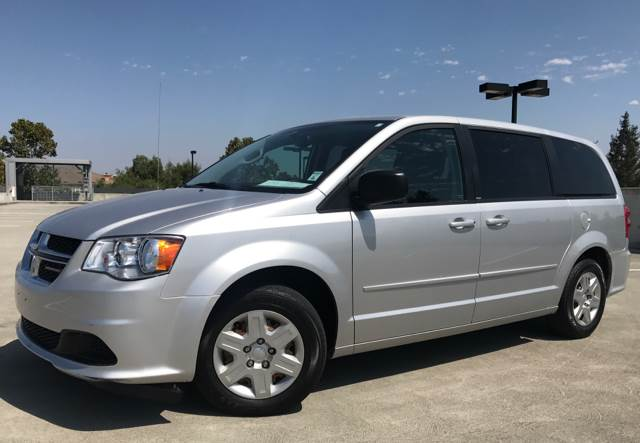 2012 DODGE GRAND CARAVAN SE 4DR MINI VAN silver 2-stage unlocking doors abs - 4-wheel active he