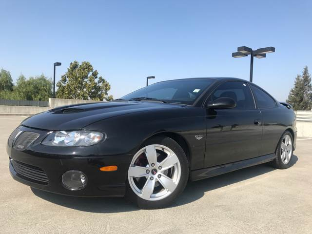 2006 PONTIAC GTO BASE 2DR COUPE black abs - 4-wheel anti-theft system - alarm anti-theft system