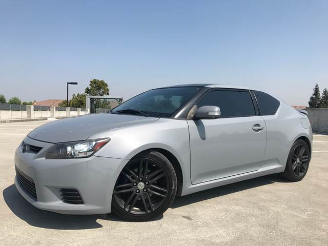 2011 SCION TC BASE 2DR COUPE 6A gray 2-stage unlocking doors abs - 4-wheel active head restrain