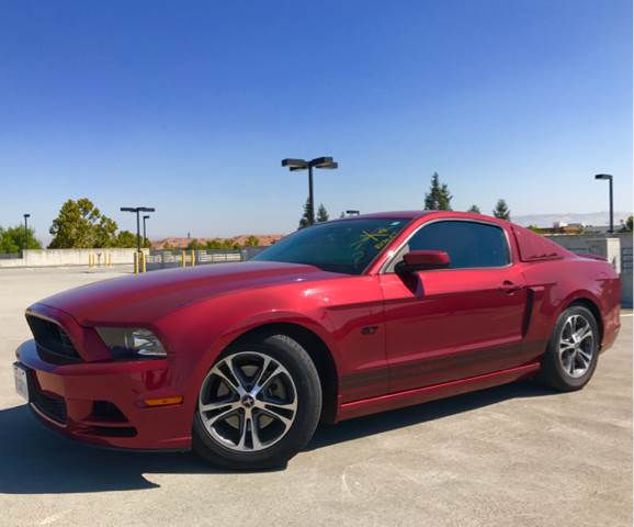 2014 FORD MUSTANG V6 PREMIUM 2DR FASTBACK red 2-stage unlocking doors abs - 4-wheel air filtrat