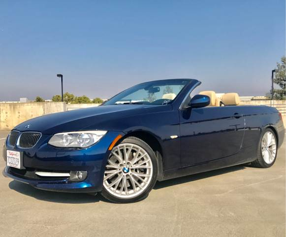 2011 BMW 3 SERIES 335I 2DR CONVERTIBLE blue 2-stage unlocking doors abs - 4-wheel active cruise