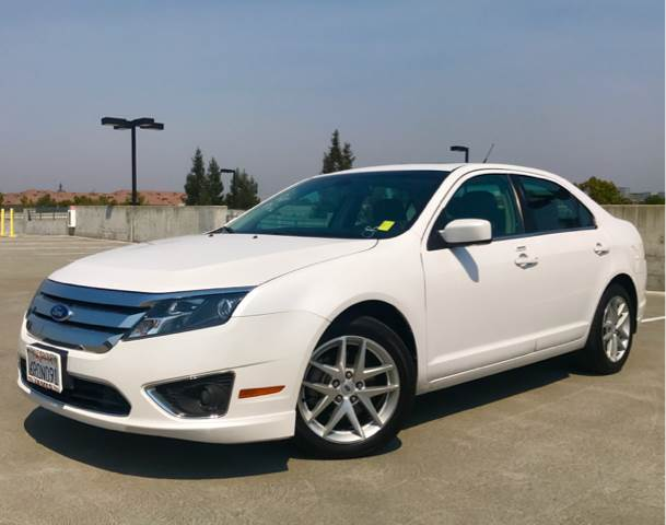 2011 FORD FUSION SEL 4DR SEDAN white 2-stage unlocking doors abs - 4-wheel air filtration airb