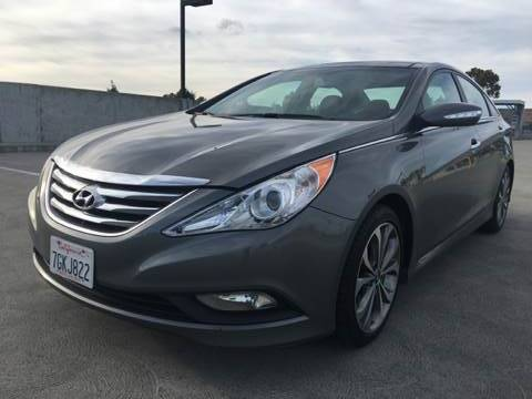 2014 HYUNDAI SONATA LIMITED 20T 4DR SEDAN gray 2-stage unlocking doors abs - 4-wheel active he