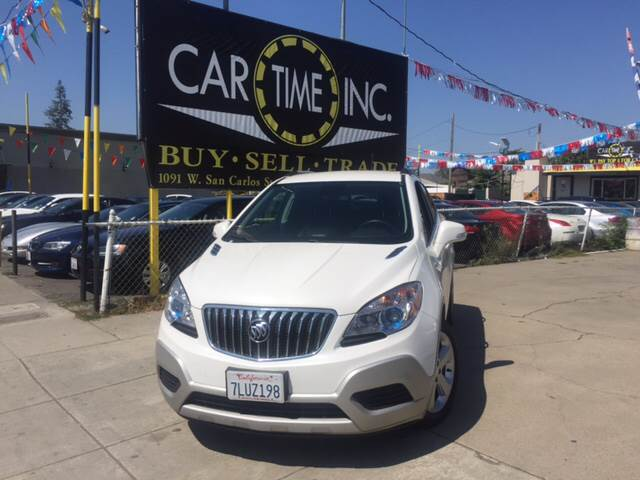 2015 BUICK ENCORE BASE 4DR CROSSOVER white 2-stage unlocking doors abs - 4-wheel air filtration