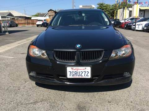 2007 BMW 3 SERIES 328I 4DR SEDAN black 2-stage unlocking doors 3-stage heated front seats 6-spe