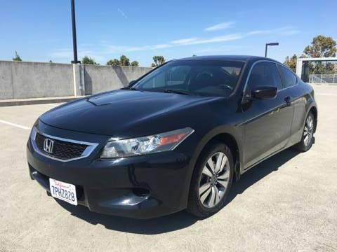 2008 HONDA ACCORD EX L 2DR COUPE 5A black abs - 4-wheel active head restraints - dual front air