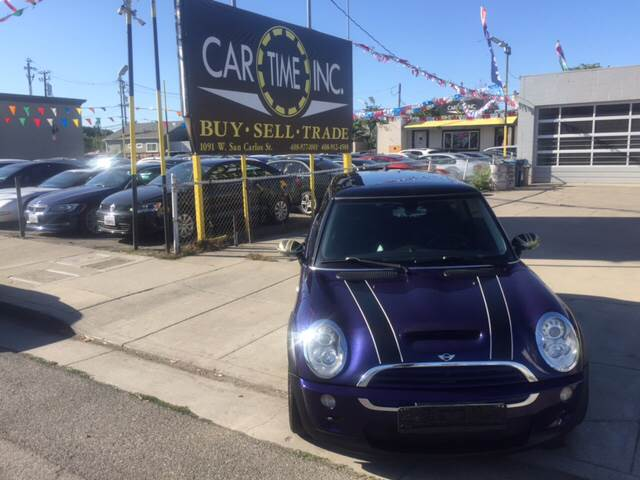 2005 MINI COOPER S 2DR SUPERCHARGED HATCHBACK blue 17 inch wheels abs - 4-wheel alloy wheels a