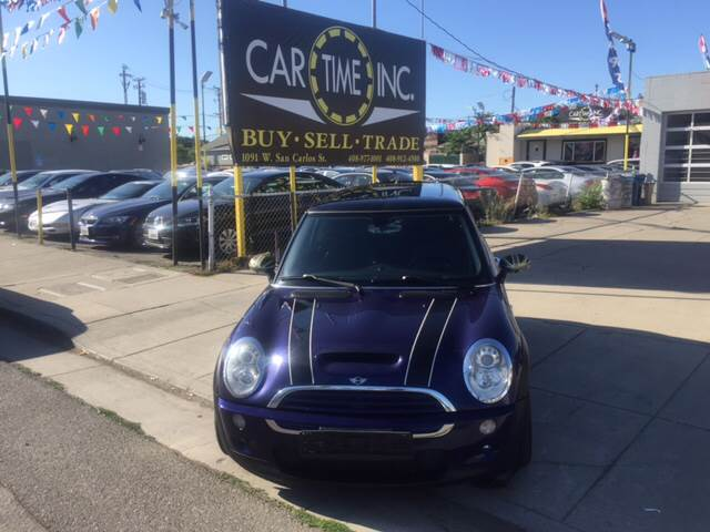 2005 MINI COOPER S 2DR SUPERCHARGED HATCHBACK blue 17 inch wheels 6-speed shiftable automatic tr