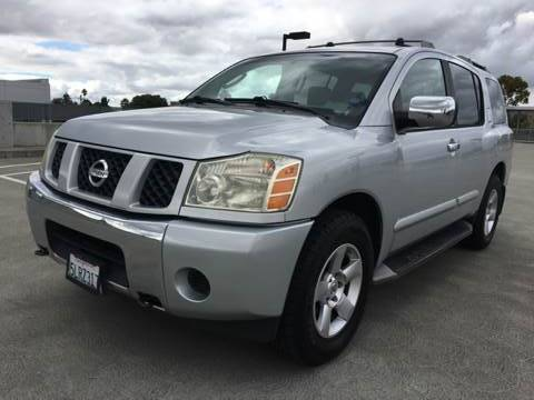 2004 NISSAN ARMADA SE 4WD 4DR SUV silver 336 axle ratio 4wd selector - electronic 4wd type - p