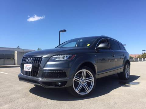 2010 Audi Q7 for sale at Car Time Inc in San Jose CA