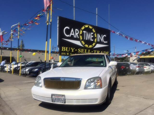 2005 CADILLAC DEVILLE DHS 4DR SEDAN white abs - 4-wheel air suspension - rear anti-theft system