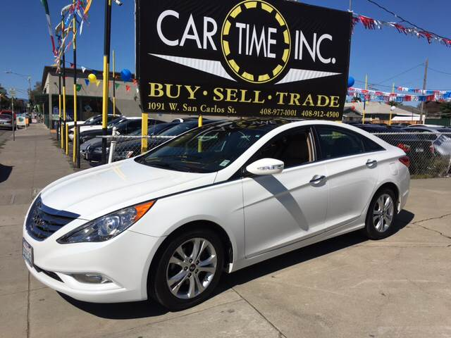 2013 HYUNDAI SONATA LIMITED 4DR SEDAN white 2-stage unlocking doors abs - 4-wheel active head r