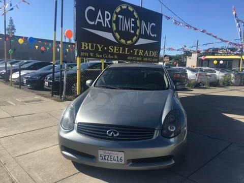 2005 INFINITI G35 BASE RWD 2DR COUPE gray abs - 4-wheel anti-theft system - alarm center consol
