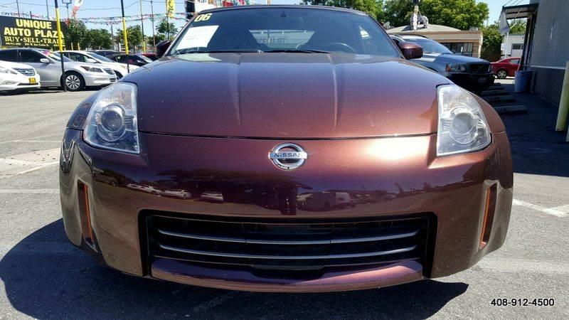2006 NISSAN 350Z GRAND TOURING 2DR CONVERTIBLE 3 maroon 3rd row seating air conditioning alarm