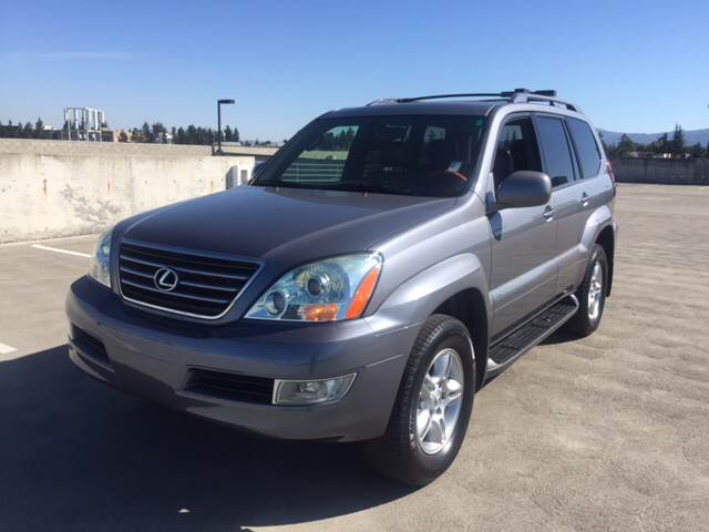 2004 LEXUS GX 470 BASE 4WD 4DR SUV gray 4wd type - full time abs - 4-wheel air suspension - rea