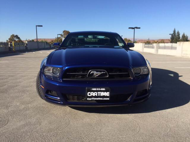 2013 FORD MUSTANG V6 PREMIUM 2DR FASTBACK blue 2-stage unlocking doors 331 limited slip axle 5