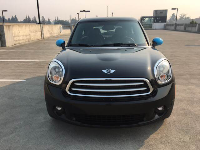 2014 MINI PACEMAN COOPER 2DR HATCHBACK black 17 in 5-star double spoke black wheels 17 in allo