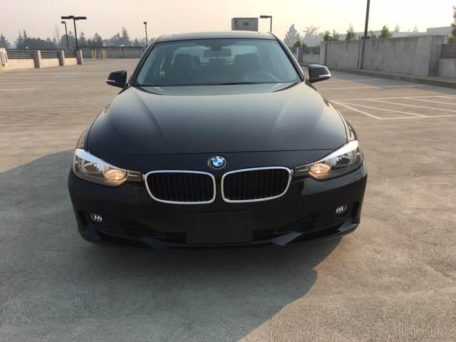 2014 BMW 3 SERIES 328I XDRIVE AWD 4DR SEDAN SULEV black 18 in light alloy double spoke wheels 1
