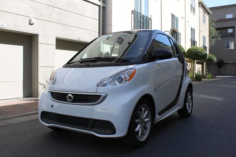 2015 SMART FORTWO ELECTRIC DRIVE 2DR HATCHBACK white 2-stage unlocking doors abs - 4-wheel air