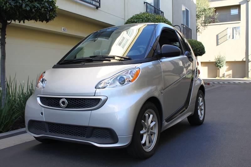 2015 SMART FORTWO ELECTRIC DRIVE 2DR HATCHBACK silver 2-stage unlocking doors 3-spoke leather sp