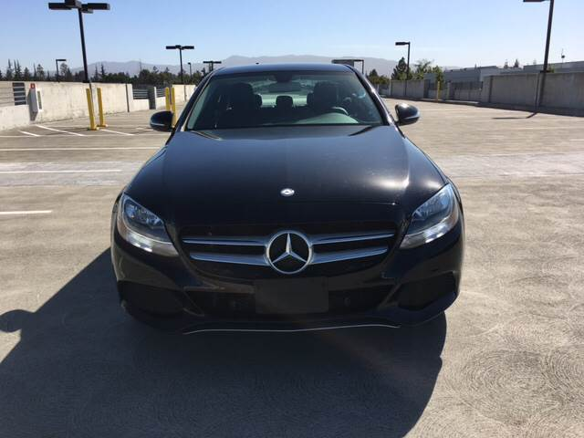 2015 MERCEDES-BENZ C-CLASS C 300 4MATIC AWD 4DR SEDAN black 2-stage unlocking doors 4wd type - f