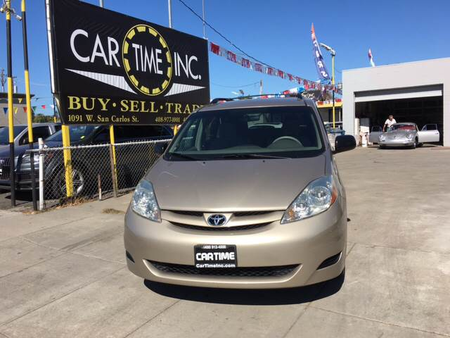 2006 TOYOTA SIENNA LE 7 PASSENGER 4DR MINI VAN champagne abs - 4-wheel airbag deactivation - occ