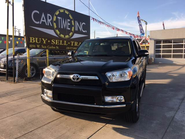 2012 TOYOTA 4RUNNER SR5 4X4 4DR SUV black 4wd selector - manual hi-lo 4wd type - part time 50 s