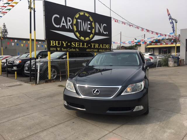 2007 LEXUS LS 460 BASE 4DR SEDAN gray 2-stage unlocking doors abs - 4-wheel accident avoidance