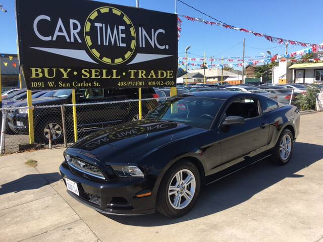 2014 FORD MUSTANG V6 PREMIUM 2DR FASTBACK black 2-stage unlocking doors abs - 4-wheel air filtr