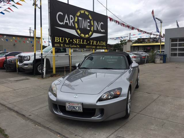 2007 HONDA S2000 BASE 2DR CONVERTIBLE gray 2-stage unlocking doors abs - 4-wheel air filtration