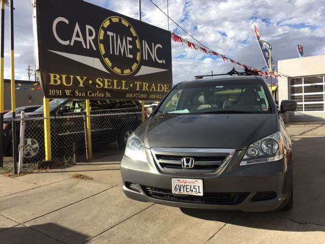 2007 HONDA ODYSSEY EX L WDVD 4DR MINI VAN gray 2-stage unlocking doors abs - 4-wheel air filtr