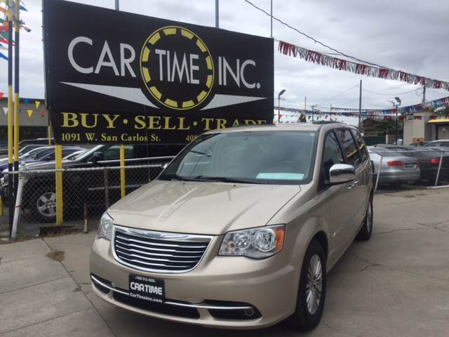 2013 Chrysler Town And Country For Sale At Car Time Inc In San Jose CA