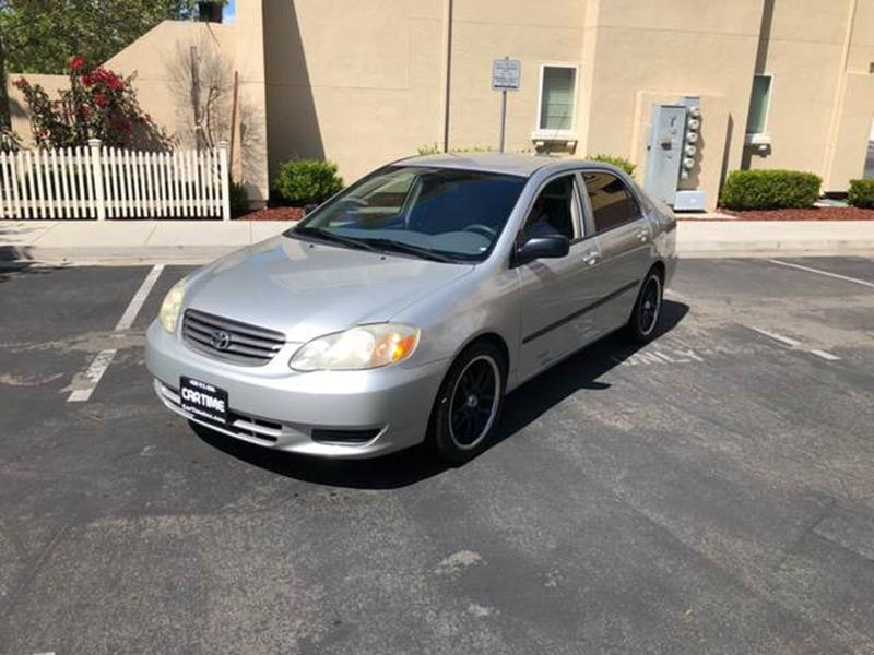2003 Toyota Corolla For Sale At Car Time Inc 1 In San Jose CA