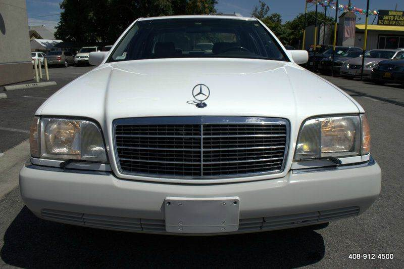 1995 MERCEDES-BENZ S-CLASS S 320 LWB 4DR SEDAN white abs - 4-wheel air conditioning - front and