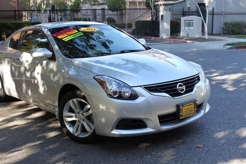 2012 NISSAN ALTIMA 25 S 2DR COUPE 6M silver 2-stage unlocking doors abs - 4-wheel active head