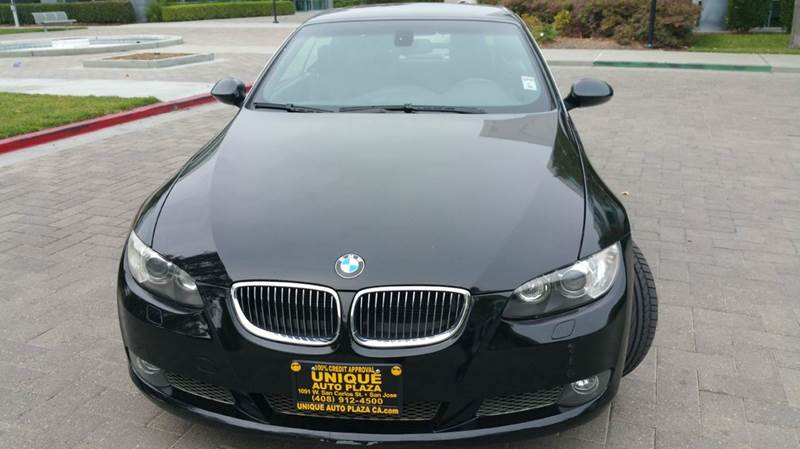 2009 BMW 3 SERIES 335I 2DR CONVERTIBLE black 2-stage unlocking doors abs - 4-wheel active cruis