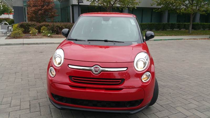 2014 FIAT 500L POP 4DR HATCHBACK red 2-stage unlocking doors abs - 4-wheel active head restrain