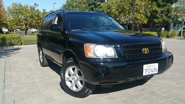 2001 TOYOTA HIGHLANDER BASE V6 AWD 4DR SUV black abs - 4-wheel cassette clock cruise control