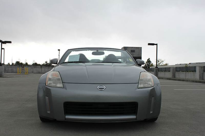2005 NISSAN 350Z ENTHUSIAST 2DR ROADSTER gray power steering power windows 42812 miles VIN J
