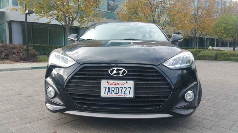 2013 HYUNDAI VELOSTER TURBO BASE 3DR COUPE black 2-stage unlocking doors abs - 4-wheel active h
