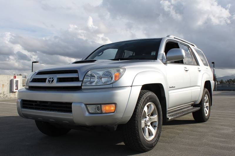 2005 TOYOTA 4RUNNER SR5 4DR SUV silver abs - 4-wheel axle ratio - 391 cassette center console