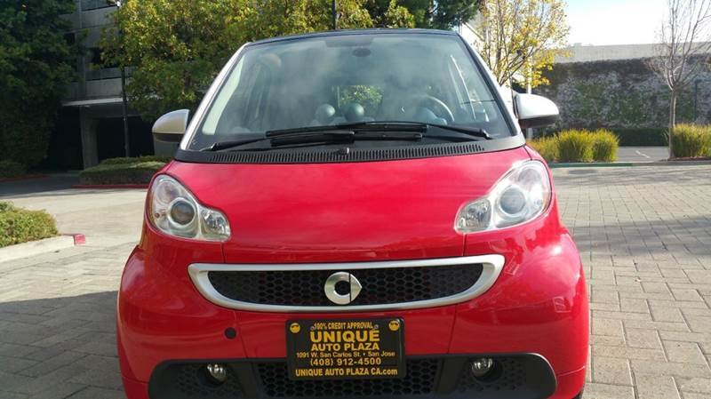 2013 SMART FORTWO PASSION ELECTRIC DRIVE 2DR HATCH red abs - 4-wheel air filtration airbag deac