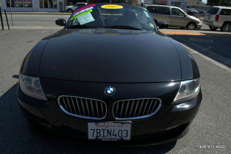 2007 BMW Z4 30SI 2DR CONVERTIBLE black 2-stage unlocking doors 8-way power seats abs - 4-wheel