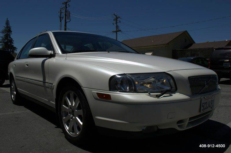 2003 VOLVO S80 T6 ELITE 4DR TURBO SEDAN white abs - 4-wheel anti-theft system - alarm cassette