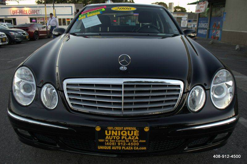 2006 MERCEDES-BENZ E-CLASS E350 4DR SEDAN black abs - 4-wheel air filtration airbag deactivatio