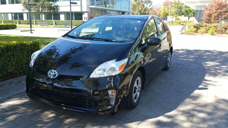 2015 TOYOTA PRIUS FOUR 4DR HATCHBACK black 2-stage unlocking doors abs - 4-wheel active head re