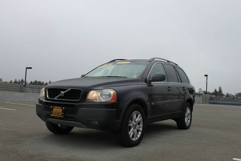 2005 VOLVO XC90 T6 AWD 4DR TURBO SUV navy blue 18 inch wheels abs - 4-wheel anti-theft system -