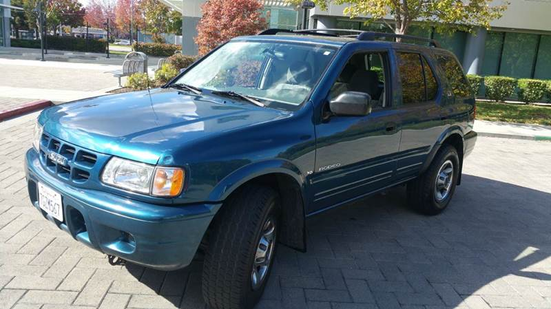2001 ISUZU RODEO LS 4WD 4DR SUV blue 4-speed automatic transmission abs - 4-wheel alloy wheels