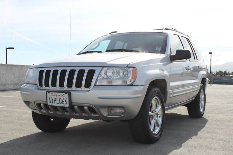 2002 JEEP GRAND CHEROKEE LIMITED 4WD 4DR SUV silver skid plates special factory paint front air
